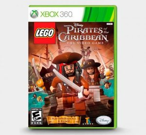 LEGO Piratas do Caribe - Xbox 360 ( USADO )