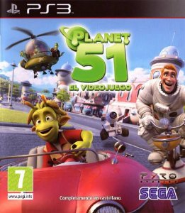 Planet 51 The Game - Ps3 ( USADO )