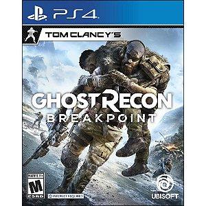 Ghost Recon Breakpoint - PS4 ( Pré-Venda 04/10 )
