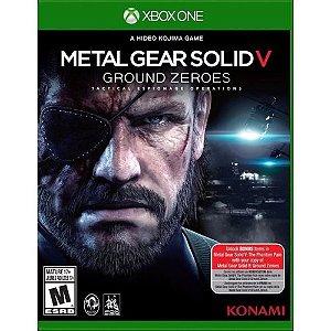 Metal Gear Solid Ground Zeroes - Xbox One ( USADO )