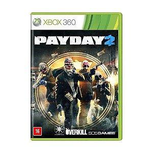 Payday 2 - Xbox 360 ( NOVO )