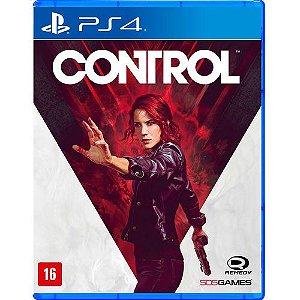 Control - PS4 ( NOVO )