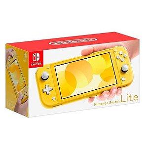 Nintendo Switch Lite Amarelo ( NOVO )