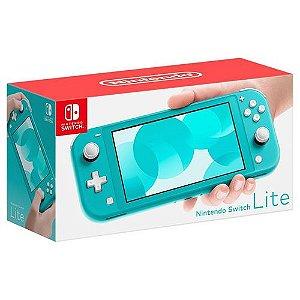 Nintendo Switch Lite Turquesa ( NOVO )