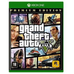 Grand Theft Auto V Premium Edition Gta 5 - Xbox One ( NOVO )
