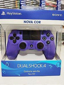 Controle Dualshock 4 Roxo Elétrico - PS4 ( NOVO )