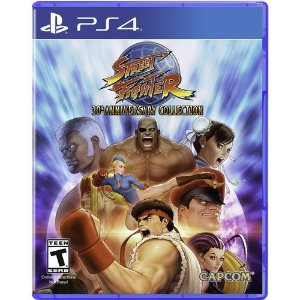 Street Fighter 30th Anniversary Collection - Ps4 ( USADO )