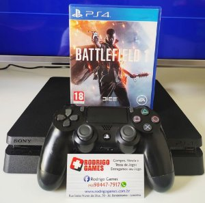 Console - Ps4 Slim 1TB ( USADO )