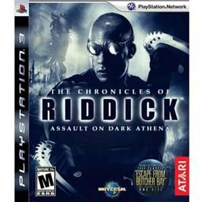 The Chronicles of Riddick: Assault on Dark Athena - PS3 ( USADO )