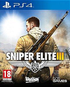 Sniper Elite 3 - PS4 ( USADO )