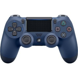 Controle Dualshock 4 Midnight Blue - PS4 ( NOVO )
