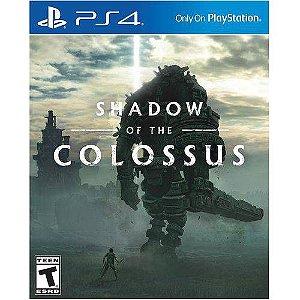Shadow of the Colossus - PS4 ( USADO Capa de Papelão )