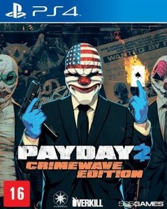 PAYDAY 2: CRIMEWAVE EDITION PS4 ( USADO )