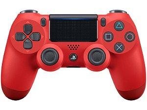 Controle Dualshock Vermelho - PS4 ( NOVO )