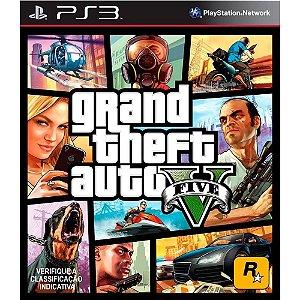 Gta 5 Grand Theft Auto V - Ps3 ( NOVO )