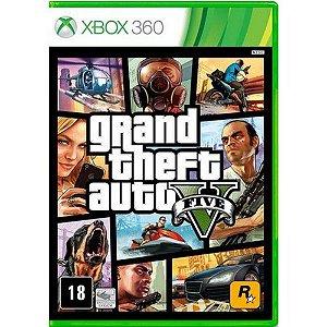 Gta 5 Grand Theft Auto V - Xbox 360 ( NOVO )