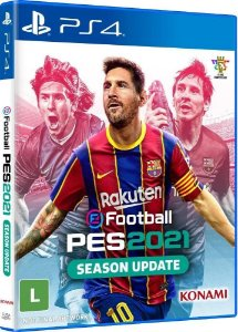 Pro Evolution Soccer Efootball Pes 2021 - Ps4  ( NOVO )
