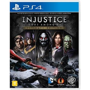 Injustice  Ultimate Edition - PS4 ( USADO )