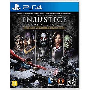Injustice  Ultimate Edition - PS4 ( USADO )