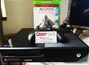 Console - Xbox One Fat 500gb com 1jogo ( USADO )