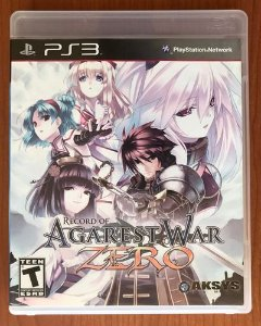 Record of agarest war zero - Ps3 ( USADO )
