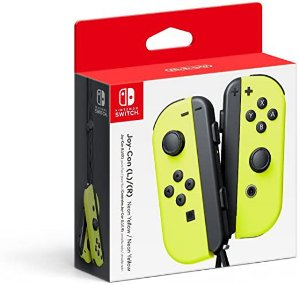 Joy-Con (L/R) Amarelo Neon - Nintendo Switch ( NOVO )