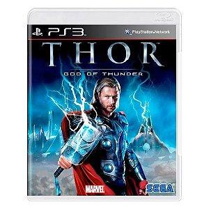 Thor God of Thunder - Ps3 ( USADO )