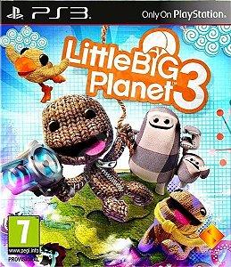 Little Big Planet 3 - Ps3 ( USADO )