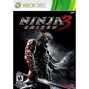 Ninja Gaiden 3 - Xbox 360 ( USADO )
