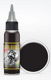 Tinta Preto escuro XXX - Iron Works