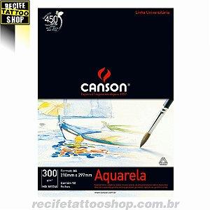 Papel Aquarela Canson A4