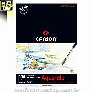 Papel Aquarela Canson A3