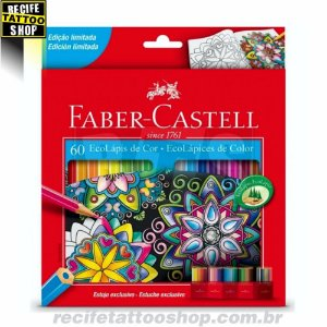 EcoLápis de cor - Faber-Castell com 60 unidades