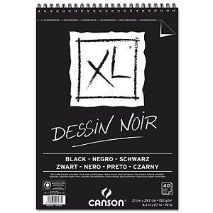 Papel em Bloco XL Dessin Noir