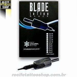 Biqueira Blade Tattoo Black - Modelo Traço - RL