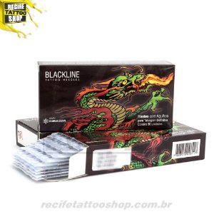 Agulha Blackline RL05 - Caixa com 50 unidades