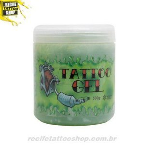 VASELINA TATTOO GEL VERDE 500G