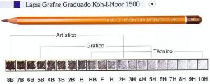 LAPIS KOH-I-NOOR GRADUADO 3B