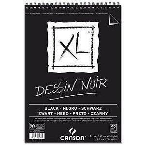 PAPEL CASON EM BLOCO XL DESSIN NOIR A4