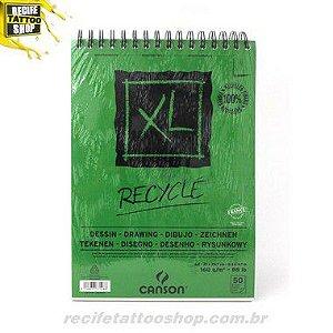 PAPEL CANSON EM BLOCO XL RECILADO A4