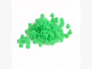 Borracha para batedor de silicone Verde 5 unid