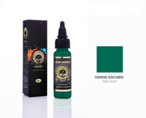 TINTA IRON VERDE ESCURO 30ML