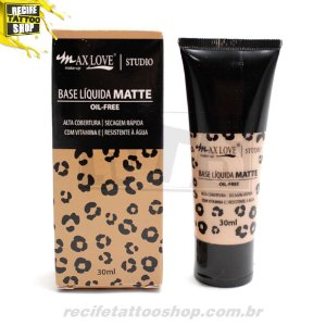 BASE LIQUIDA MATTE OIL-FREE MAXLOVE N 108