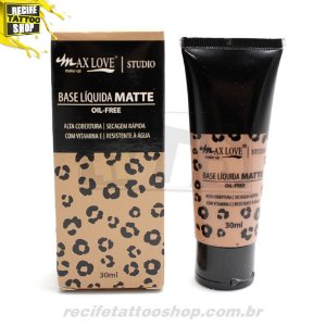BASE LIQUIDA MATTE OIL-FREE MAXLOVE N 110