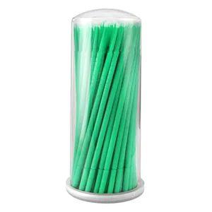 Aplicador Microbrush para Cílios Vermonth com 100 Verde
