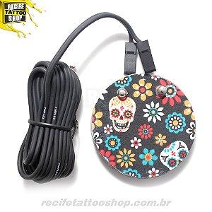 Pedal New redondo Caveira mexicana