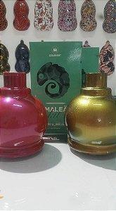 Tinta camaleão spray cor vermelha com variações verde e dourado conteudo 300 ml