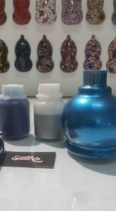Tintas Tri coat azul perolizado conteudo 250 ml
