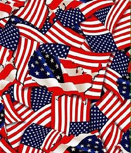pelicula para water transfer printing modelo bandeira americana grande tamanho 1mts x 1mts de largura