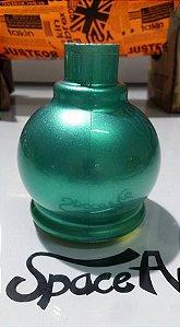 Tintas tri coat verde metalizado conteudo 250ml